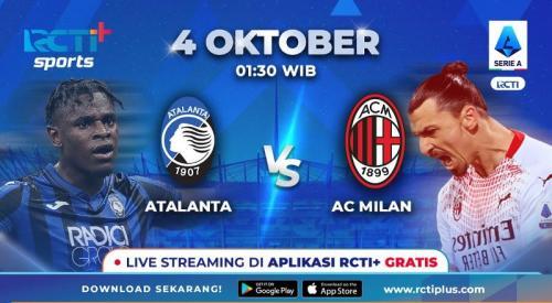 Atalanta vs AC Milan di RCTI+