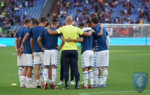 Laga AS Roma vs Empoli di Liga Italia 2021-2022. Foto: Empoli