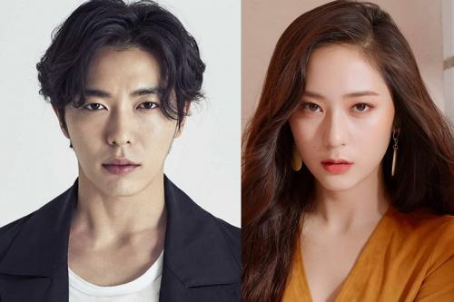 Kim Jae Wook dan Krystal Jung dalam drama Crazy Love. (Foto: Marisol/Clio)