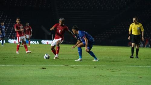 Timnas Indonsia vs Taiwan. (Foto: PSSI)