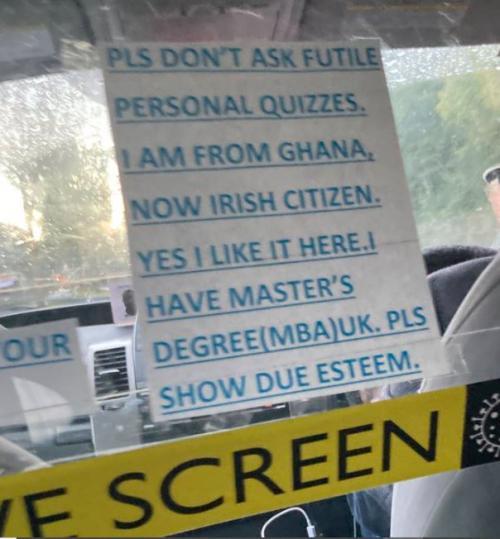 Catatan Sopir Taksi