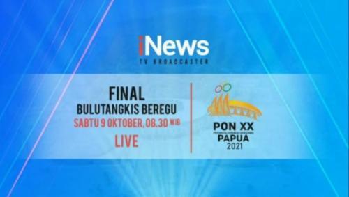 Final bulu tangkis beregu PON XX Papua 2021