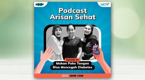 Podcast Arisan Sehat. (Foto: RCTI Plus)