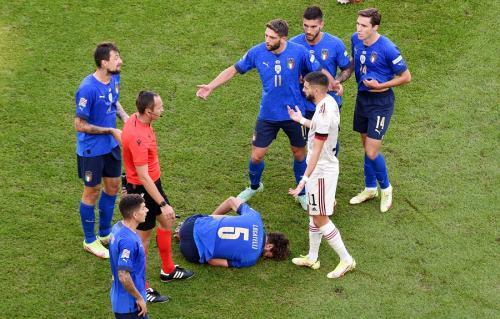 Italia vs Belgia (Foto: Rueters)