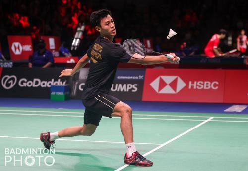 Shesar Hiren Rhustavito (Badminton Photo)