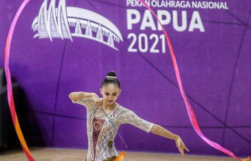 Pesenam asal Lampung, Sutjiati Narendra. PB PON XX Papua