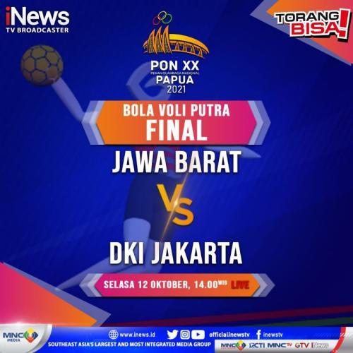 Voli Jawa Barat vs DKI Jakarta