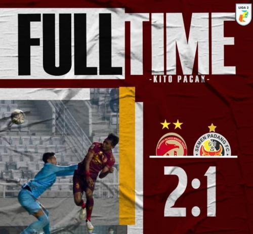 Sriwijaya FC vs Semen Padang