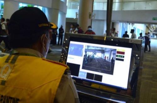 Simulasi di Bandara Ngurah Rai