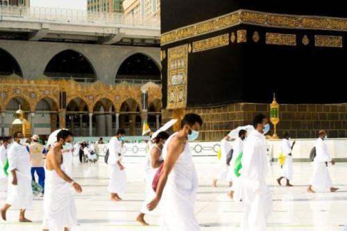 Ilustrasi ibadah umrah. (Foto: Reuters)