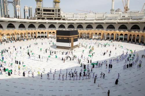 Jamaah umrah di Tanah Suci. (Foto: Reuters)