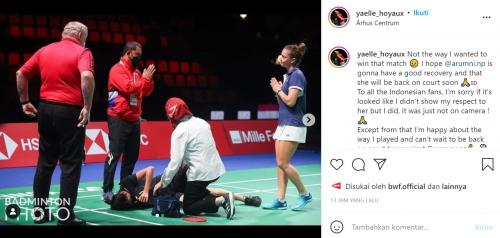 Hoyaux minta maaf soal kejadian Nandini