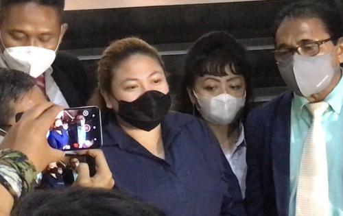 Olivia Nathania tegaskan suaminya tak terlibat dalam kasus dugaan penipuan CPNS. (Foto: MNC Portal Indonesia/Melati)