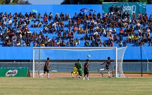 Papua vs Kaltim sepakbola putra. (Foto: PB PON XX Papua)