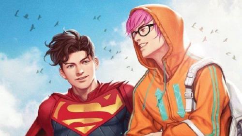 Heboh komik Superman biseksual.