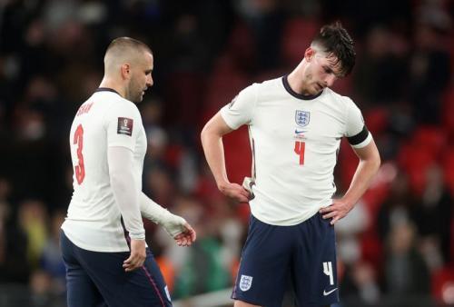 Shaw dan Rice di laga Inggris vs Hungaria