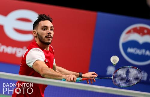 Adel Hamek. Foto: Badminton Photo