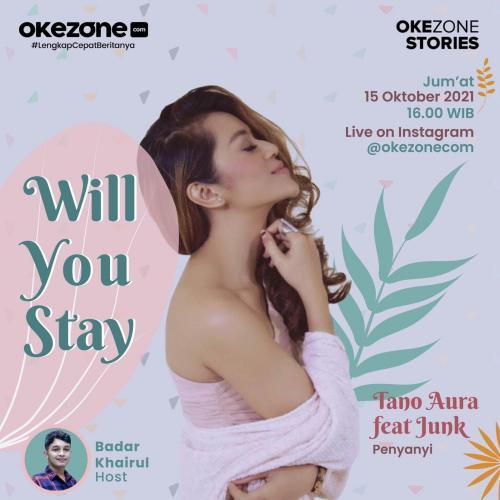 Tano Aura menjadi bintang tamu Live IG Bareng Okezone sore ini!