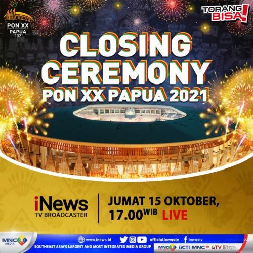 Closing Ceremony PON XX Papua 2021