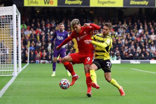 Roberto Firmino Cetak Hattrick di Laga Watford vs Liverpool, Salah Beri Sanjungan