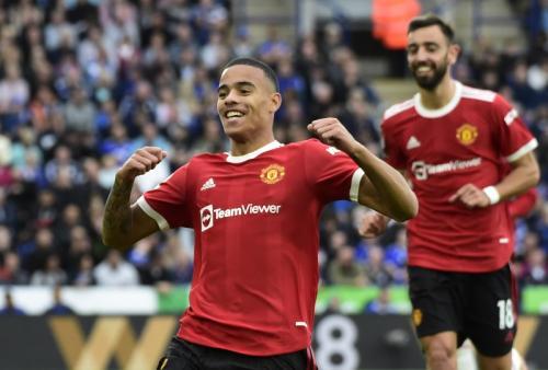 Sama Kuat, Leicester City vs Manchester United Imbang 1-1 di Babak Pertama