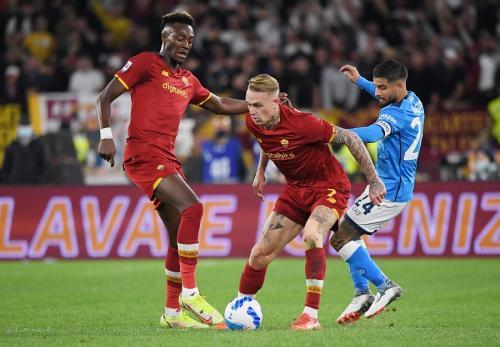 Gara-Gara Pelatih Napoli Juga Kena Kartu Merah, Mourinho Tak Jadi Marah kepada Wasit
